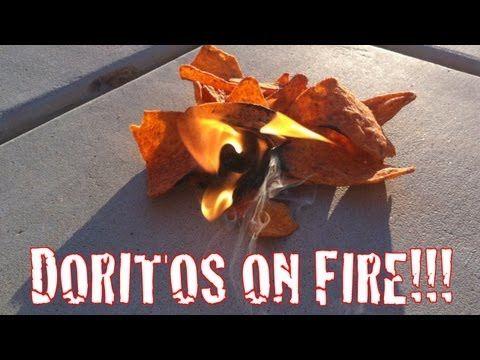 doritos on fire cottage hack