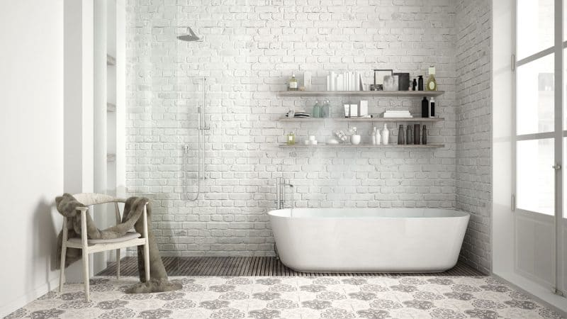2017 Is The Year To Refresh Your Bathroom By Borrowing Ideas From Sophisticated And Stunning Scandinavian Style This Features A Simple