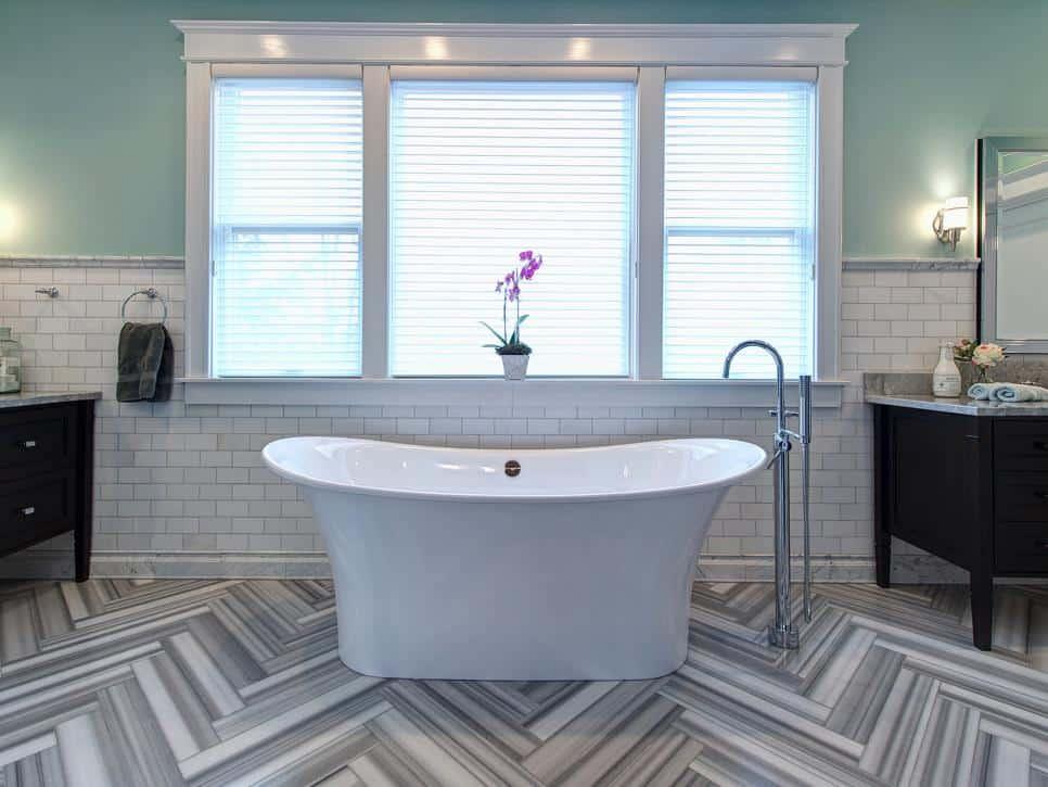 What\'s Trending in Bathroom Tile - Home Trends Magazine