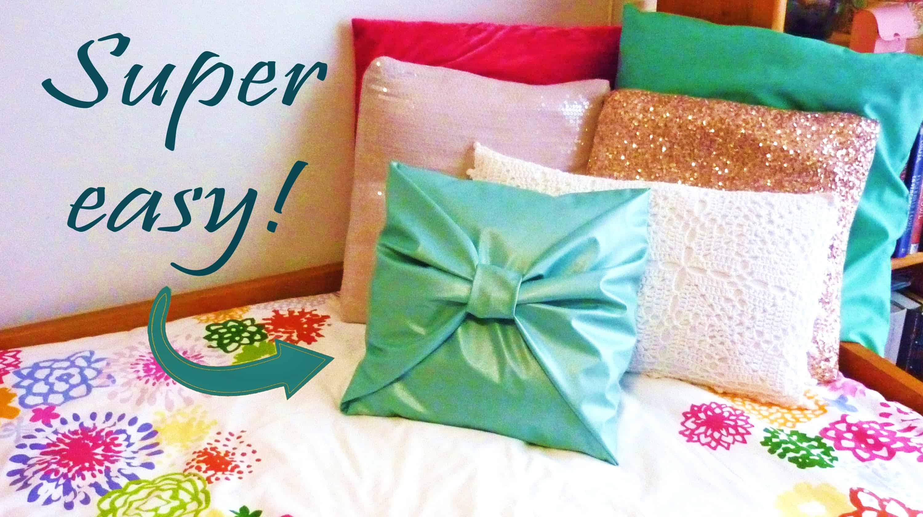 Ideas For Sewing A Throw Pillow: DIY Throw Pillow Ideas – Home Trends Magazine,