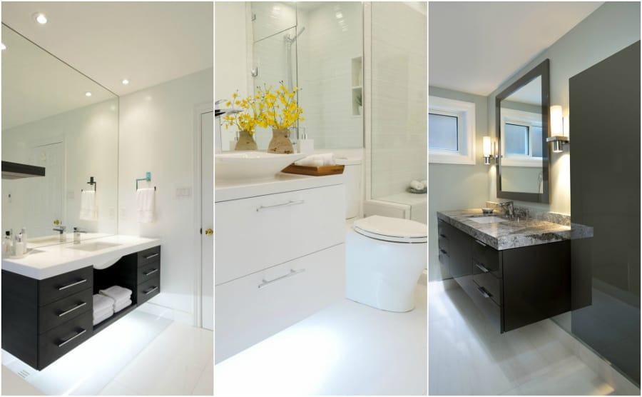 5 design trends for bathrooms in 2018 home trends magazine for Andros kitchen bath designs