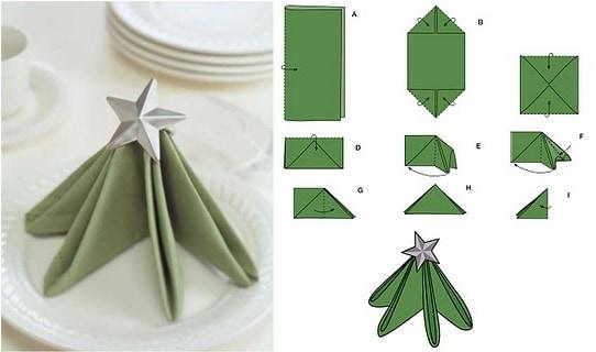 Napkin Folding Christmas.10 Best Diy Napkin Folding Tutorials For Christmas Festive
