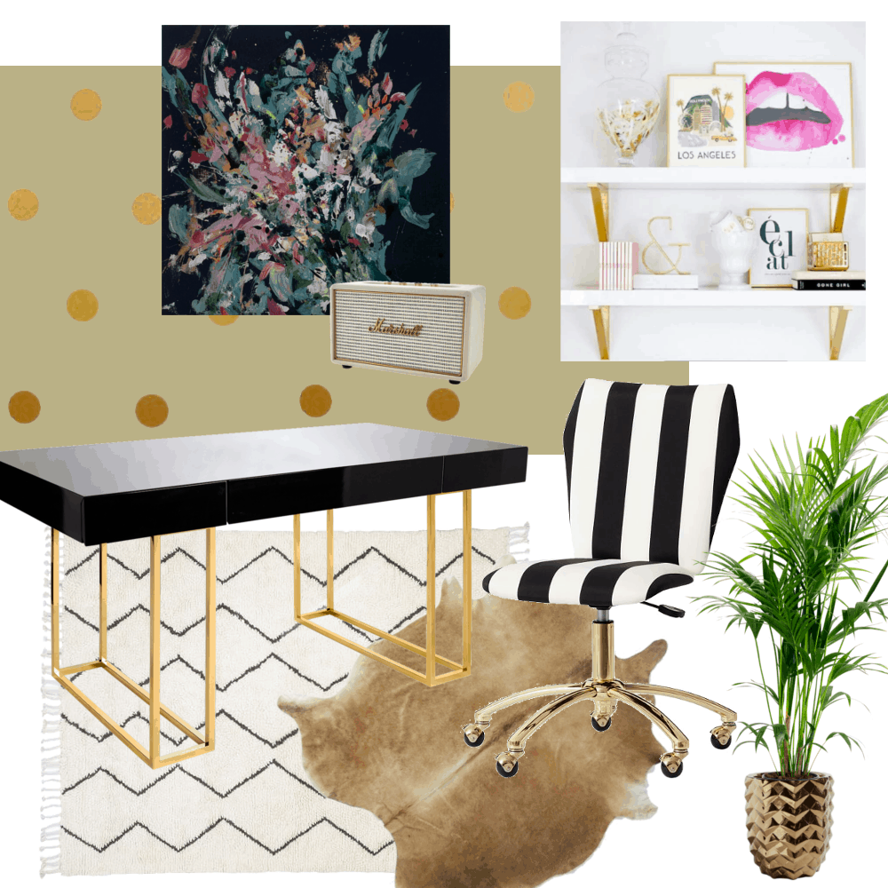a green peace office design board by sarah marie home trends magazine