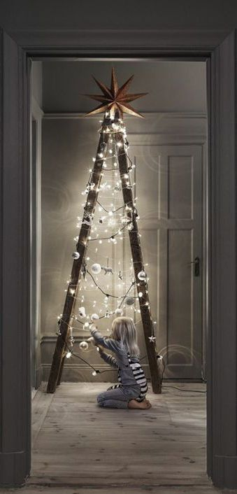 Christmas Tree Alternative.5 More Alternative Christmas Tree Ideas To Try Home Trends