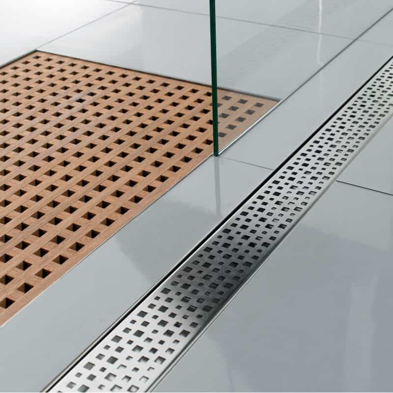 linear drain installation