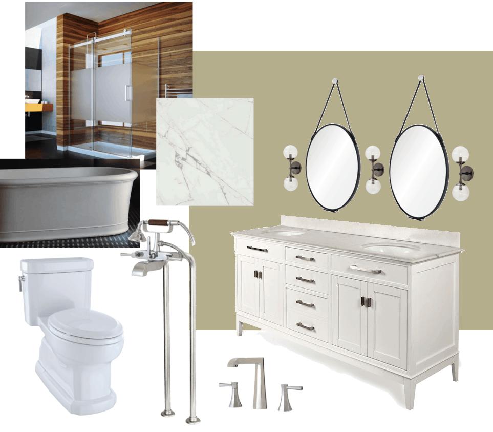 Glen Peloso\'s Peaceful Bathroom Design Board - Home Trends Magazine