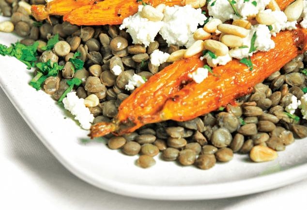 Harissa Roasted Carrots Recipe