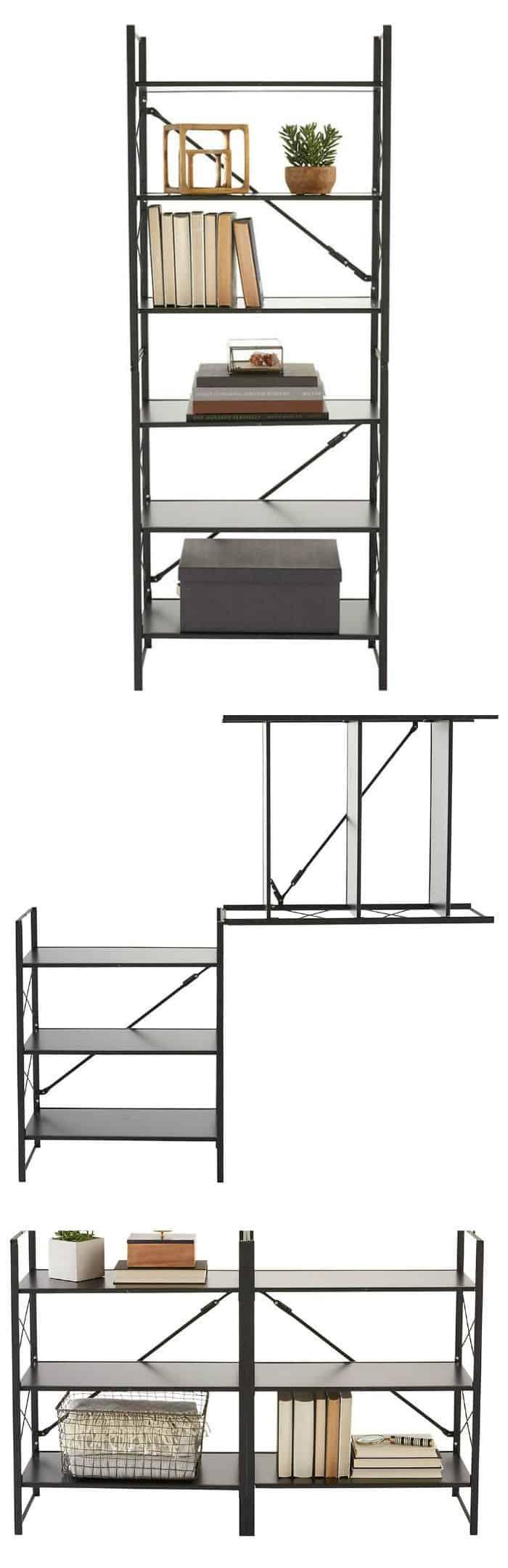 folding shelf space saver