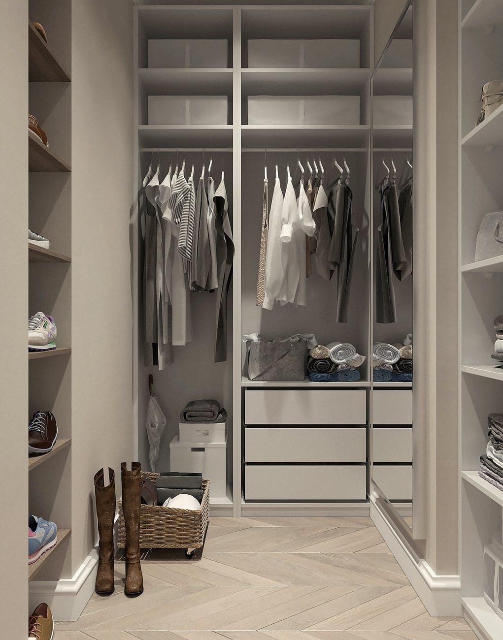 small closet condo