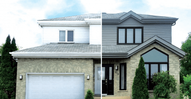 Matching Exterior Finishes
