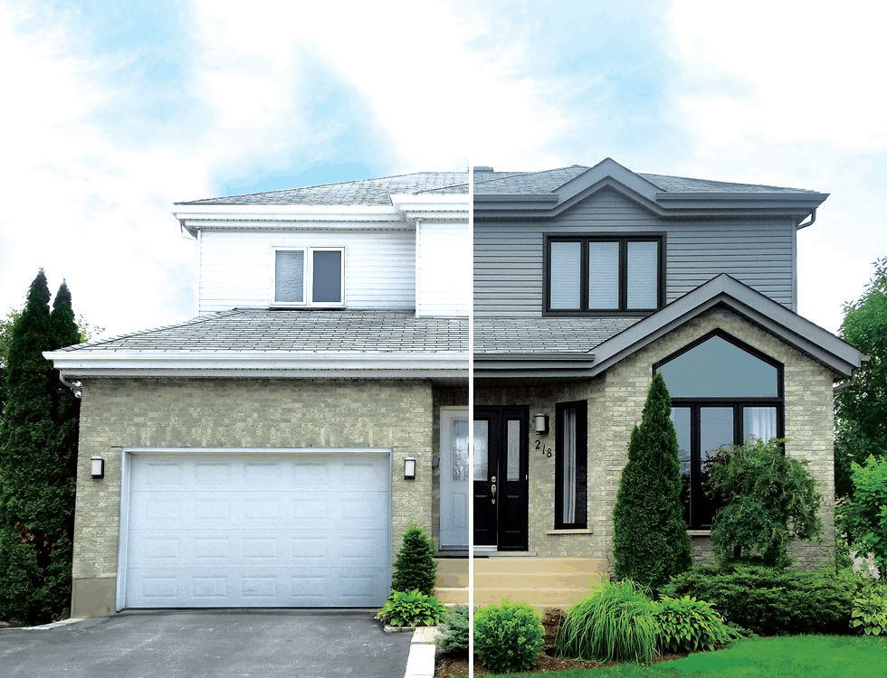 Matching exterior finishes after an addition home trends for Exterior finishes for homes
