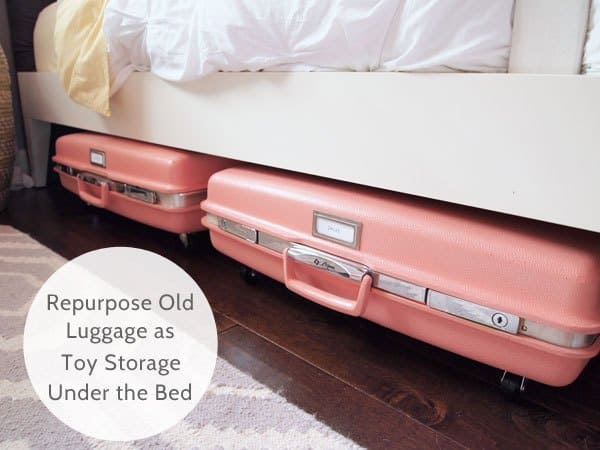small space hacks under bed