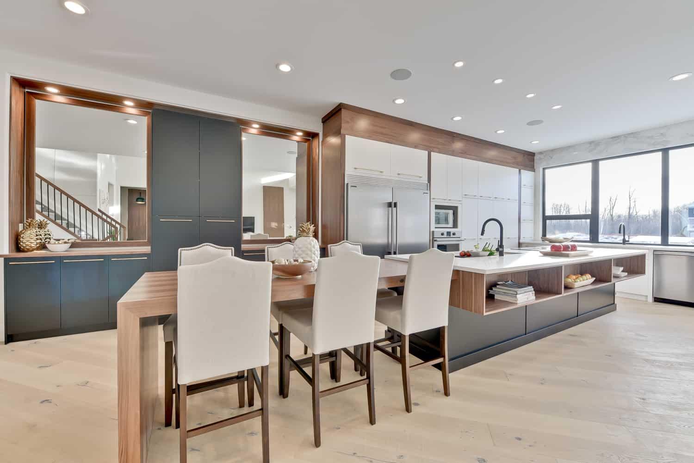 designer kitchen renovation