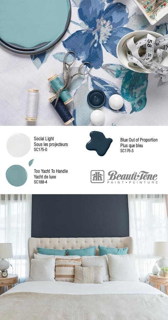 Blue Out Of Proportion Color Scheme