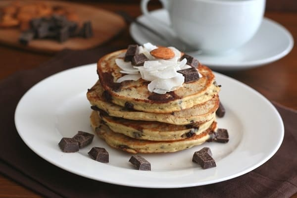 Almond Joy Pancakes (Gluten Free)
