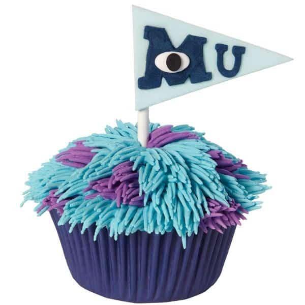Monster's University Cupcakes