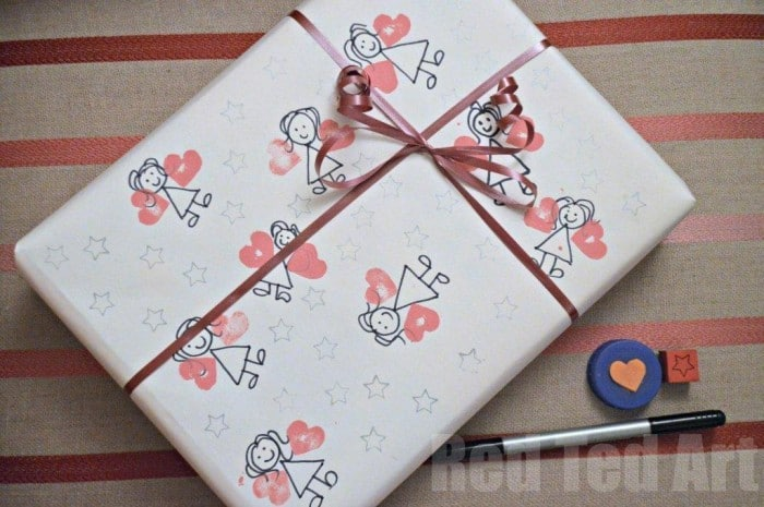 DIY Fairy Wrapping Paper