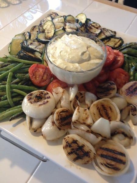 Assorted Grilled Vegetable Platter