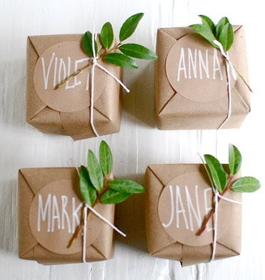Personalized and environmental!