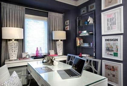 Glamorous Office Design by Nicholas Rosaci