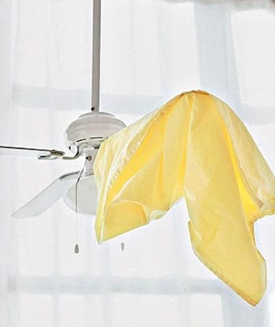 Cleaning Fan Blades