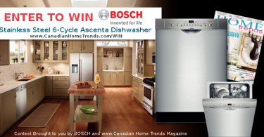 Canada Dishwasher Giveaway