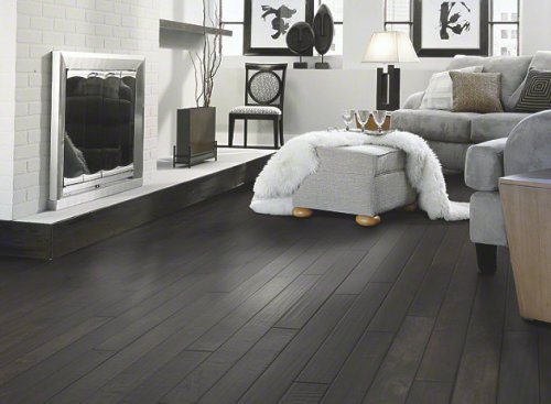 black flooring ideas