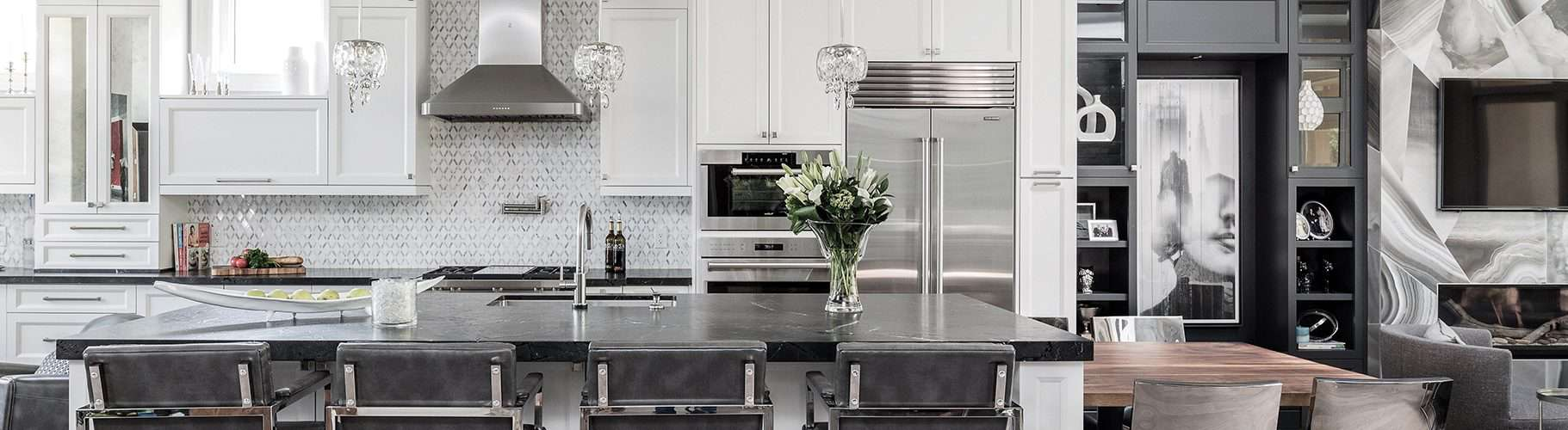 Monochromatic Kitchen Add Character To It Today