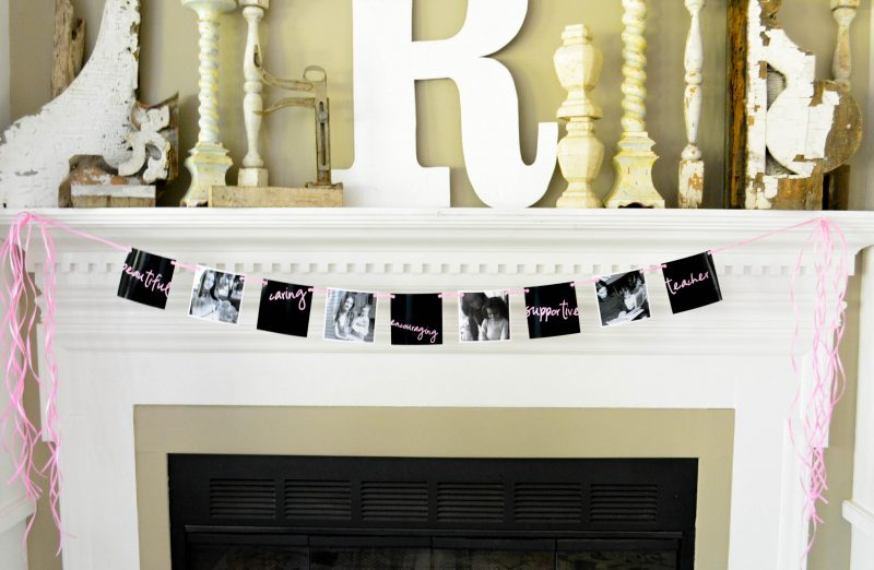Mother's Day Photo Banner DIY