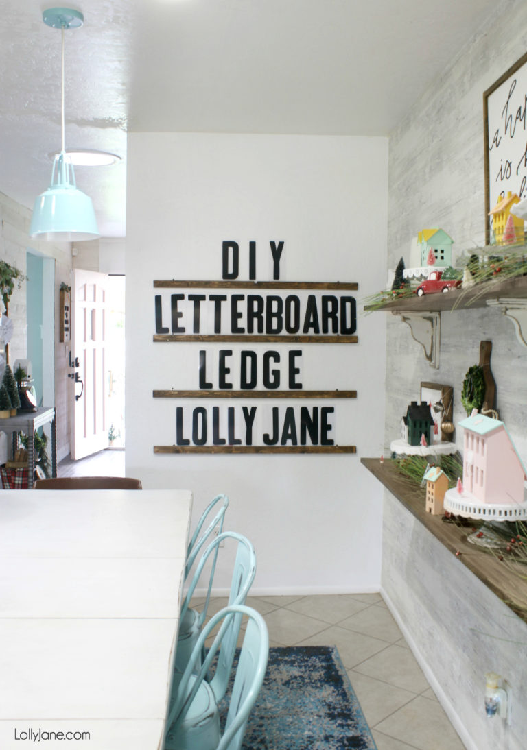 Budget Friendly Ways To Refresh Your Walls letter board