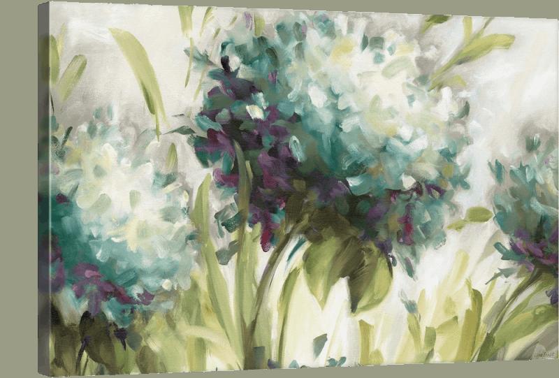 hydrangea painting