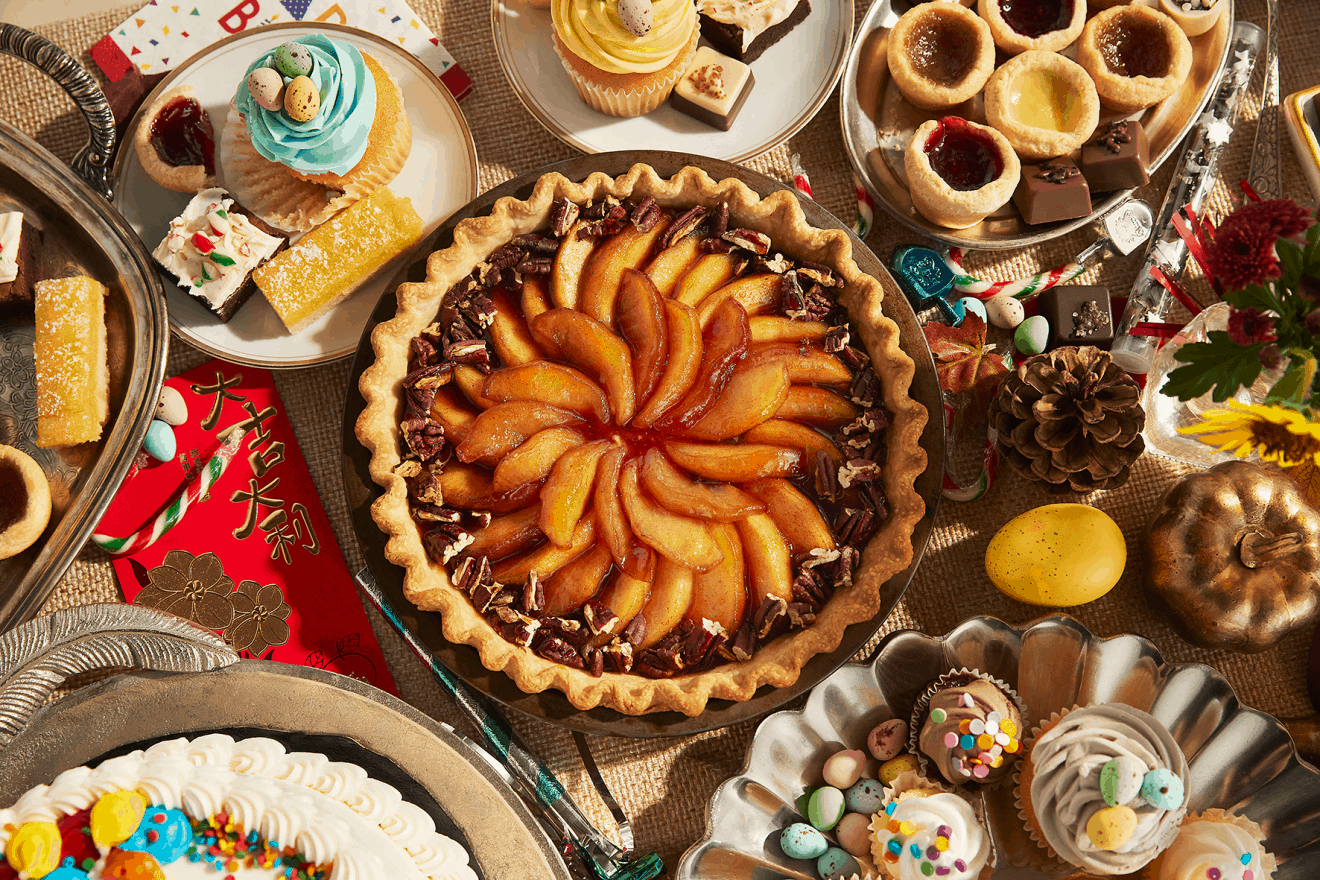 Layered Pumpkin-Apple Pie Recipe